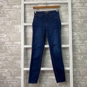 """Madewell 10"""" High-Rise Skinny Jeans Size 24"""